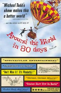 <i>Around the World in 80 Days</i> (1956 film) 1956 film by Michael Anderson, John Farrow