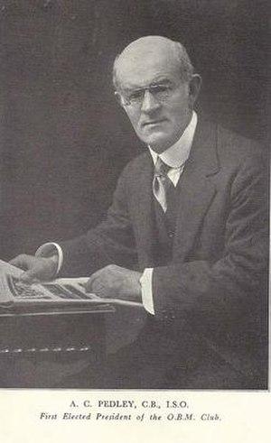 Arthur Pedley - Image: Arthur Charles Pedley CB