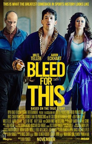 Bleed for This - Image: Bleed For This poster