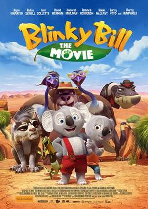 Blinky Bill the Movie - Theatrical film poster