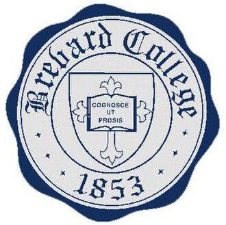 Brevard College - Image: Brevard College Seal