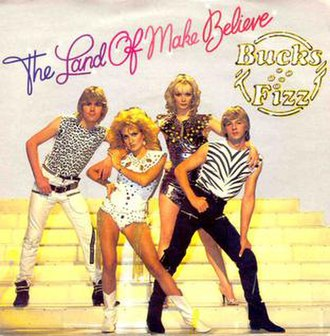 The Land of Make Believe - Image: Bucks Fizz land