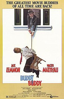 <i>Buddy Buddy</i> 1981 American comedy film