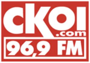 CKOI-FM - longtime Corus-era CKOI logo; used until February 2011