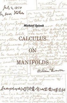 Calculus on Manifolds (book).jpg