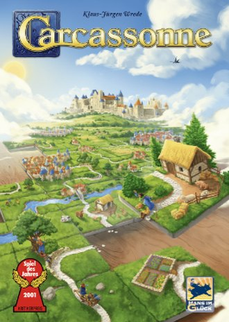 Carcassonne (board game) - Image: Carcassonne game