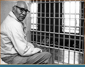 Clarence Carnes - Carnes in his prison cell