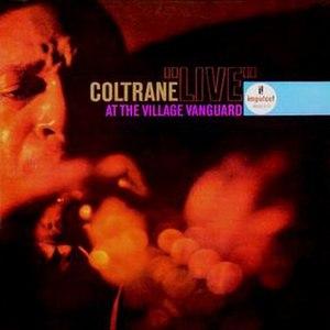"Coltrane ""Live"" at the Village Vanguard - Image: Coltrane Village Vanguard L Pcover"