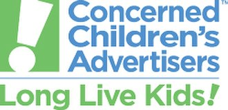 Companies Committed to Kids - The last logo for Concerned Children's Advertisers, before the name change.