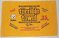 A Myron Cope special edition of the Terrible T...