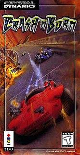 <i>Crash n Burn</i> (1993 video game) 1993 3DO racing video game