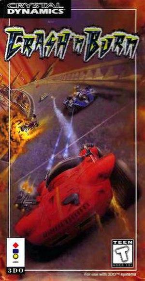 Crash N Burn (1993 video game) - North American cover art