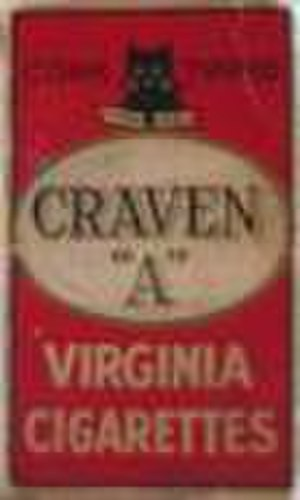 Carreras Cigarette Factory - Image: Craven A