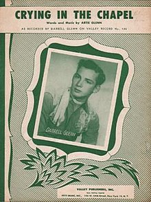 Crying in the Chapel 1953 sheet music.jpg