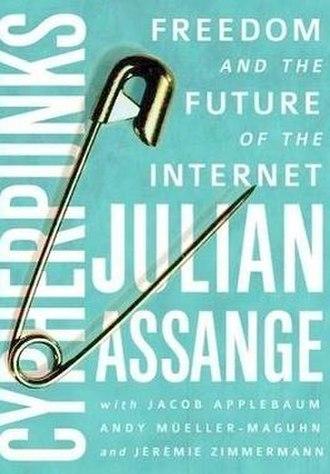 Cypherpunks (book) - Image: Cypherpunks by Julian Assange
