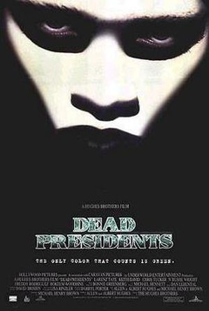 Dead Presidents - Theatrical release poster