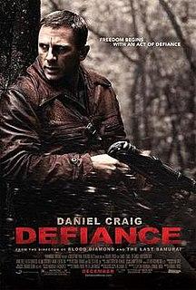<i>Defiance</i> (2008 film) 2008 film directed by Edward Zwick