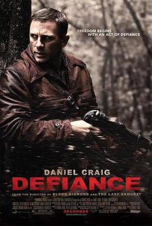 Defiance (2008 film) - Theatrical release poster