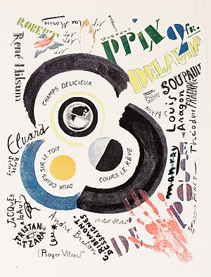 Der Sturm - Sonia Delaunay or Robert Delaunay (or both), 1922, published in Der Sturm, Volume 13, Number 3, 5 March 1922