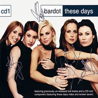 These Days (Bardot song) - Image: Discography thesedays 01