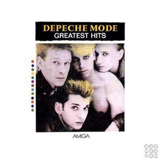 Greatest Hits (Depeche Mode album) - Image: Dmgh 1