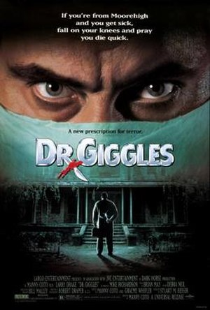 Dr. Giggles - Theatrical release poster