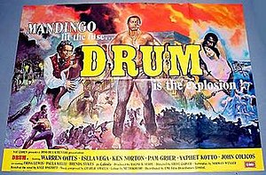 Drum (1976 film) - Theatrical release poster
