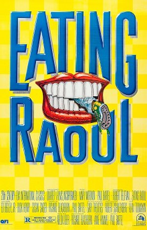 Eating Raoul - Theatrical release poster