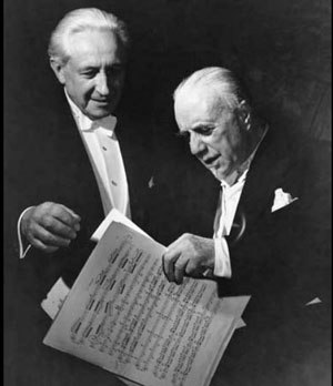 Carl Ebert - Ebert (left) with Sir Thomas Beecham in the late 1950s