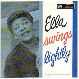Ella Swings Lightly - Image: Ella Swings Lightly