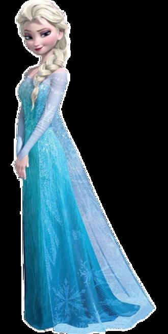 Elsa (Frozen) - Elsa as she appears in Disney's Frozen.
