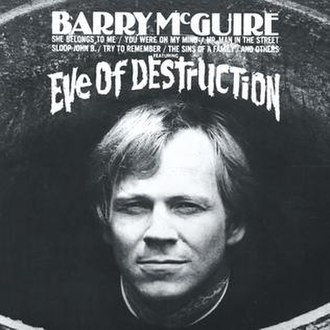 Eve of Destruction (Barry McGuire album) - Image: Eve of Destruction