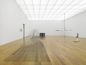 Bill Bollinger - Exhibition view 'Bill Bollinger. The Retrospective', at the Kunstmuseum Liechtenstein, Vaduz