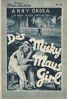 <i>Fairground People</i> 1930 film by Karel Lamač