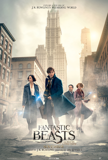 <i>Fantastic Beasts and Where to Find Them</i> (film) 2016 film directed by David Yates