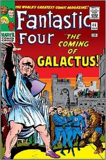 Image result for 1st appearance of galactus