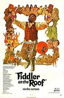 <i>Fiddler on the Roof</i> (film) 1971 American film directed by Norman Jewison