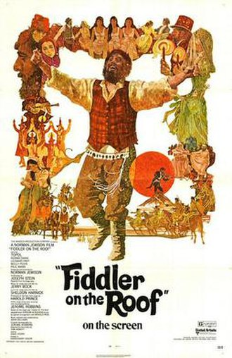 Fiddler on the Roof (film) - Image: Fiddler on the roof
