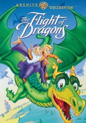 The Flight of Dragons - US DVD cover