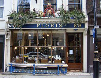 Floris of London - Image: Floris of London perfumery shop