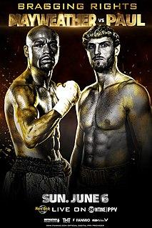 Floyd Mayweather Jr. vs. Logan Paul 2021 boxing match