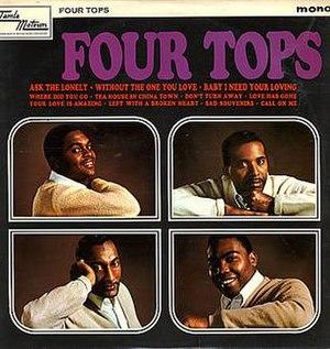 Four Tops (album) - Image: Four Tops (album)