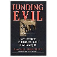 Cover of 'Funding Evil' by Rachel Ehrenfeld via Wikipedia