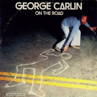 On the Road (George Carlin album) - Image: GC On The Road
