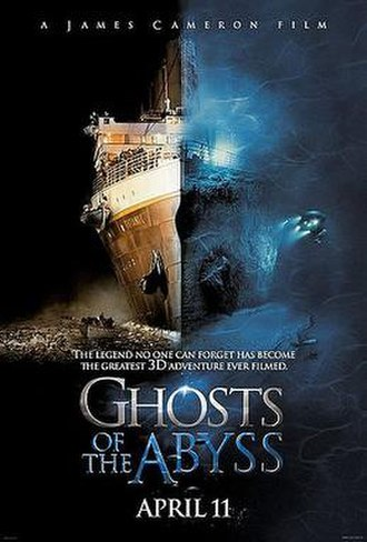 Ghosts of the Abyss - The theatrical poster for Ghosts of the Abyss.