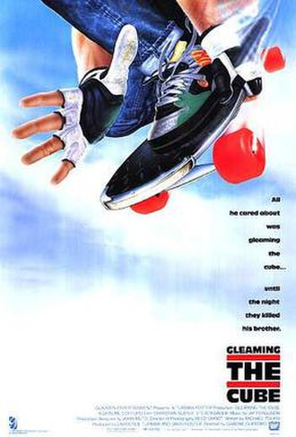 Gleaming the Cube - Theatrical release poster