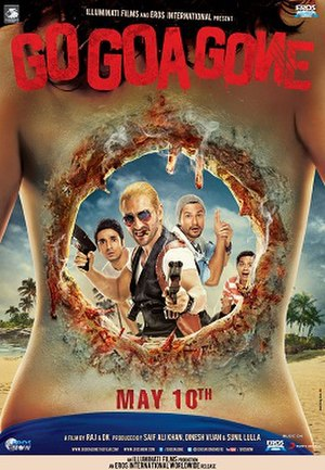 Go Goa Gone - Theatrical release poster