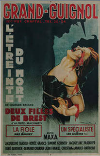 Grand Guignol theatre in the Pigalle area of Paris