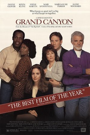 Grand Canyon (1991 film) - Theatrical release poster