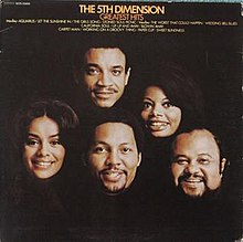 Greatest Hits (Soul City) album cover by musical group The 5th Dimension.jpg